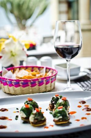 Hotel Azul de Oaxaca: Restaurante