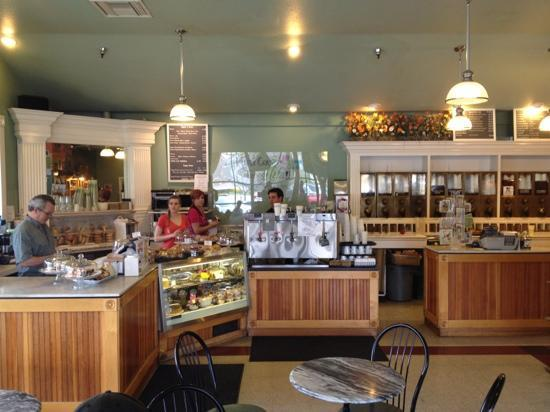 Pacific Coffee Roasting Company: Interior View