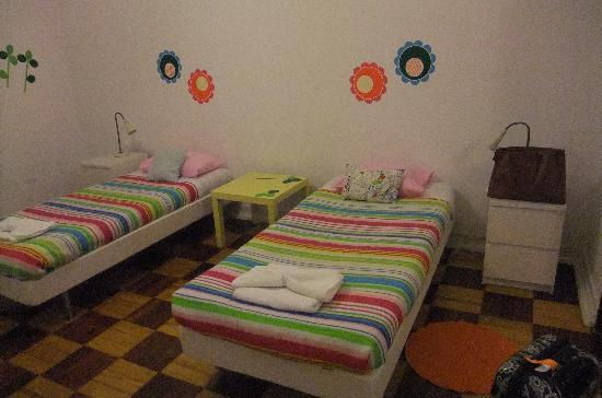 Lisboa Central Hostel: Our room