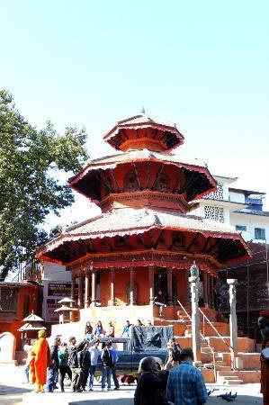 Kathmandu Durbar Square: Krishna Temple