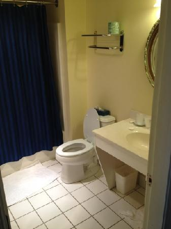 Bristol Harbor Inn: bathroom