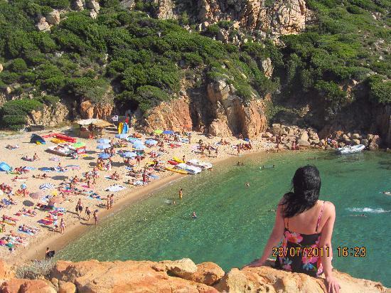 Costa Paradiso beach