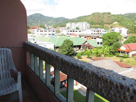 Casa Brazil Homestay & Gallery: at the balcony