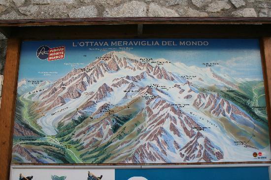 Punta Helbronner - Skyway Monte Bianco : le plan de la 8ème merveille du monde