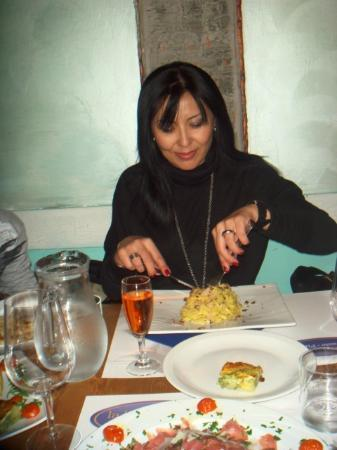 La Buca di Ipo: Спагетти с трюфелем