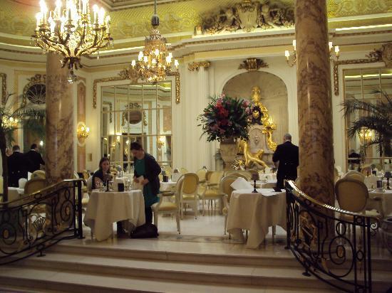 Tea at the Ritz: The tea room