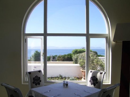 Seafood at the Marine: Views from the dining room