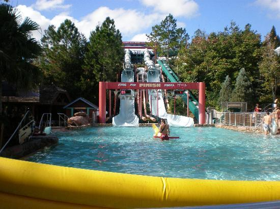 Disney S Blizzard Beach Water Park One Of The Slides