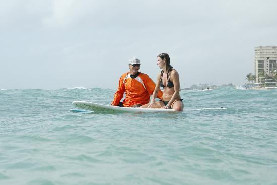 DCX Surf School: Eva and Erik
