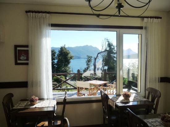 Hosteria Le Lac: Aquí desayunábamos