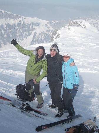 Lavendelhaus: Skitour auf einen Gipfel