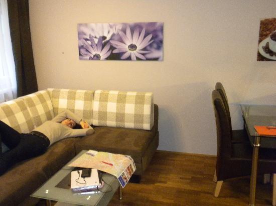 Apartment Vacha Vogtgasse: salon