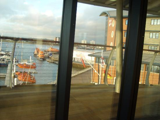 RNLI College: View from restaurant