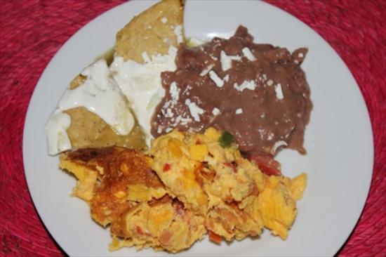 Casa Comtesse: colazione mexicana