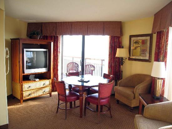 ... Small Kitchen, No Counter Space. Monterey Bay Suites: Room 1638 Living  Room