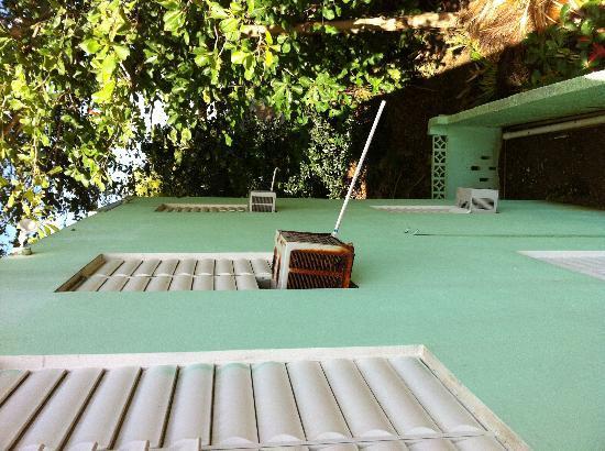 Casa Verde Hotel: Estado del aire acondicionado de la habitación