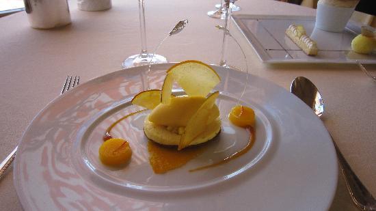 Le Restaurant des Rois : Le dessert aux mangues