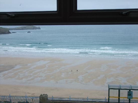 Cliffdene Hotel: The view from Room 34
