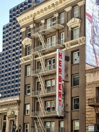 foto de the herbert hotel san francisco reconhecendo. Black Bedroom Furniture Sets. Home Design Ideas