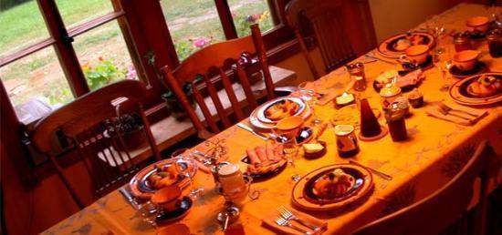 Au Ruisseau Enchanté : Le petit-déjeuner est servi