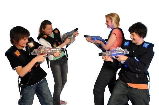 The Lost City: New laser tag equipment in Dec. 2011
