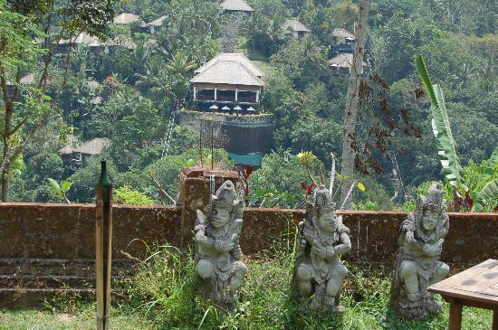 Ubud Hanging Gardens depuis le temple de Dalhem - Picture of Hanging ...