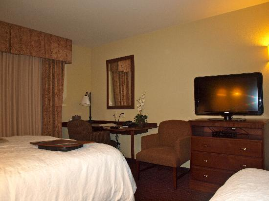 Hampton Inn & Suites Westford - Chelmsford: Nice simple room