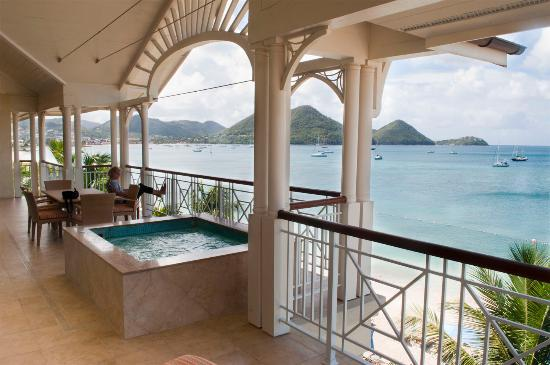 The Landings St. Lucia: Balcony