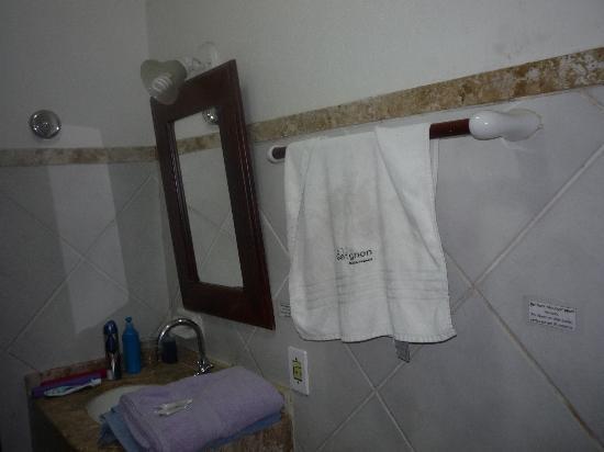Pousada Villegaignon: Baño 1