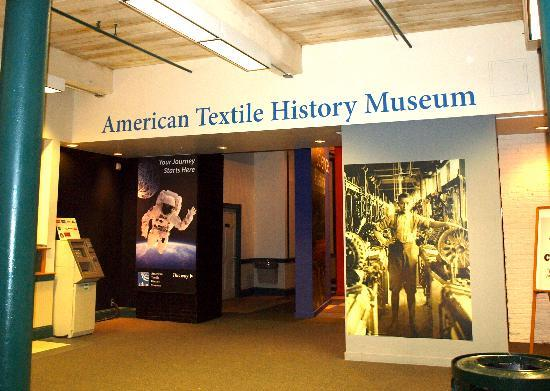 American Textile History Museum - entrance