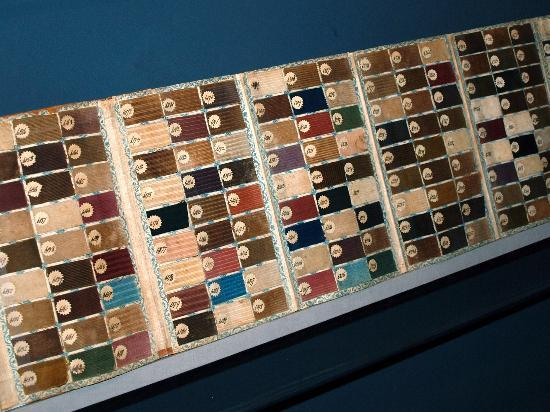 American Textile History Museum - samples