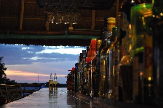 Bahia Tortuga: Coronas and sunset