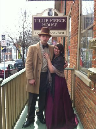 "Tillie Pierce House Inn: Thank you for hosting a fabulous murder mystery weekend! ~ ""The Cadbury's"""