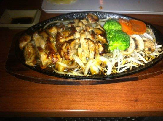 Wasabi Japanese Restaurant and Sushi Bar: Chicken teriyaki
