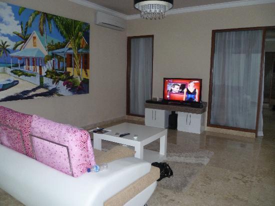 Nusa Dua Retreat and Spa: Downstairs Lounge