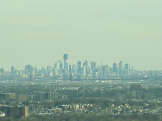 Highlawn Pavilion: View of Lower Manhattan