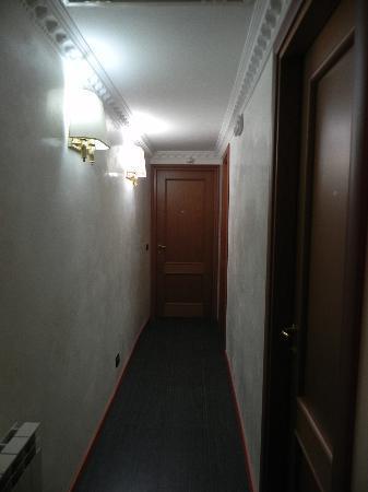 Hostel Beauty: pasillo del piso de las habitaciones privadas