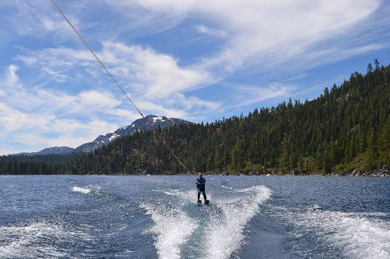 water skis and wet suits included picture of lake tahoe boat rides rh tripadvisor com