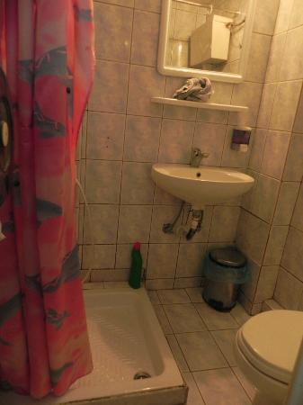Hotel Fivos: baño