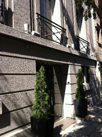 Lastarria Boutique Hotel : Front entrance