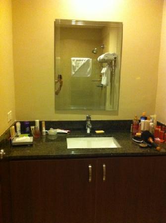 Central Park Hotel: lavamanos