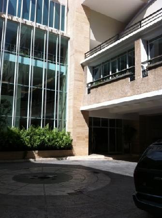 Central Park Hotel: entrada