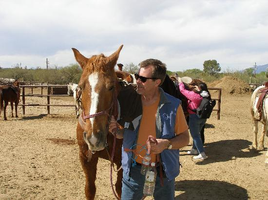 Tanque Verde Ranch: Me and Valentine