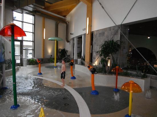 Chicoutimi, Καναδάς: Aquafun: les jeux d'eau