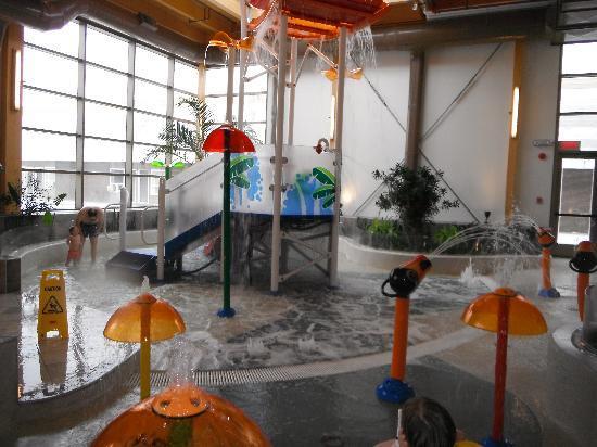 Chicoutimi, Kanada: Les jeux d'eau