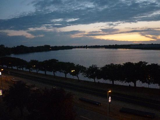 Pullman Bordeaux Lac: View from the room