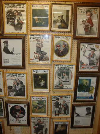 Norman Rockwell Museum : Museum Displays