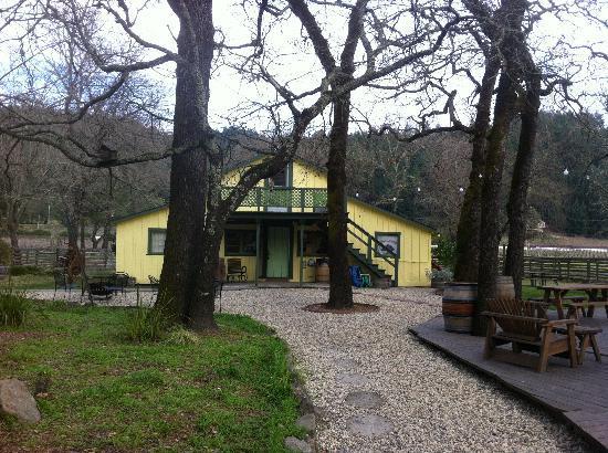 Casa Nuestra Winery and Vineyards: la struttura