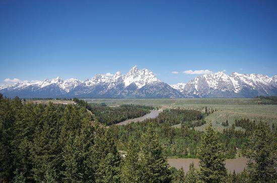 Town Center at Jackson: Tetons in Summer