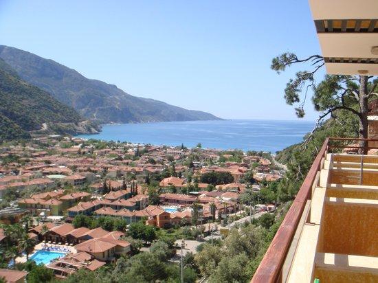 Belle Vue Hotel: Vue du balcon